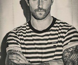 adam levine, tattoo, and maroon 5 image