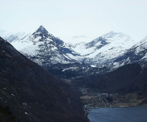 fjord, mountains, and netherlands image