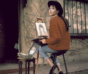 anna karina, art, and painting image