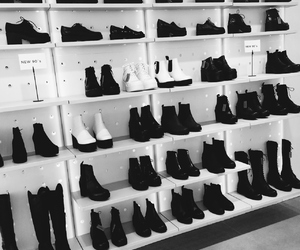 Shoes Black And White Image