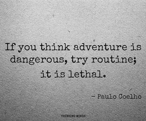 adventure, quote, and dangerous image