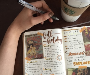 art, journal, and bullet journal image