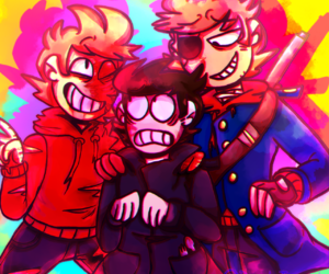ew, eddsworld, and xochi image