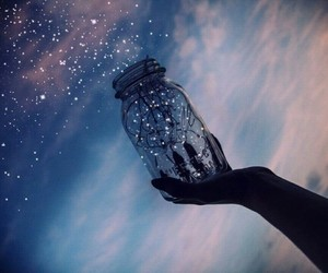 sky, stars, and light image