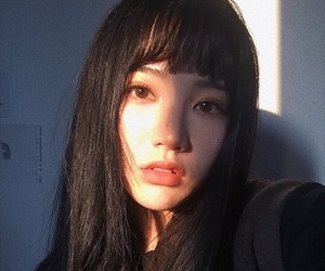 girl, ulzzang, and asian image