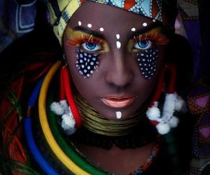 africa and makeup image