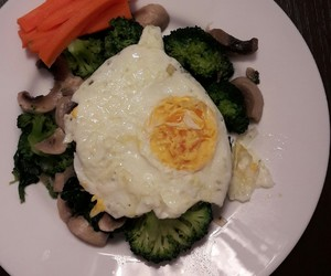broccoli, dinner, and healthy image