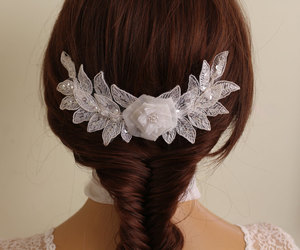 etsy, hair accessories, and bridal accessories image