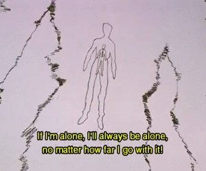alone, life, and movie image