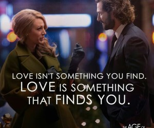love, the age of adaline, and blake lively image