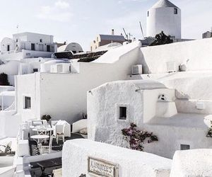 white, Greece, and travel image