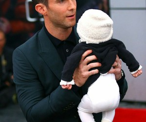 adam levine and baby image