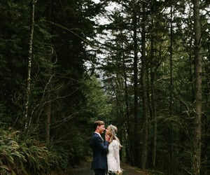 forest, men, and wedding image