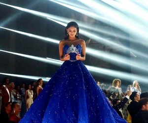 dress, style, and miss universe image