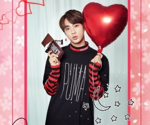 background, jin, and pink image