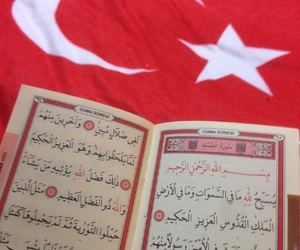 quran, turkey, and red image