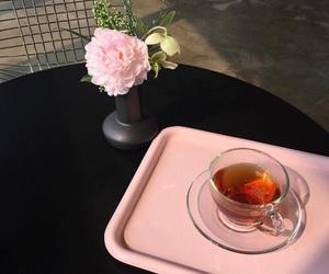 tea and pink image