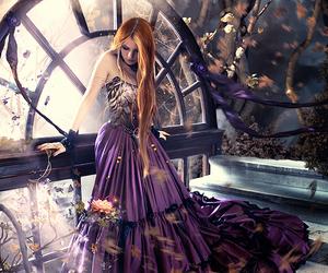art, black, and fantasy image