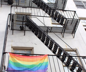 greenwich village, nyc, and lgbt image