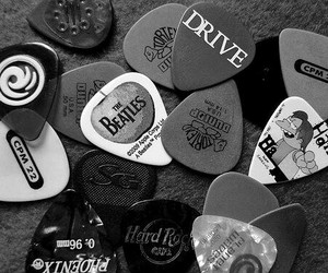 music, rock, and guitar image