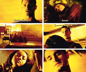 the vampire diaries, enzo, and bonnie bennett image