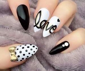 belleza, uñas, and manicura image