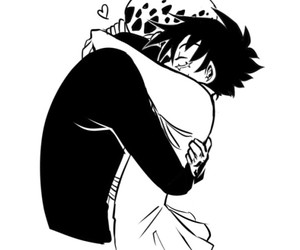 Law, luffy, and lawlu image