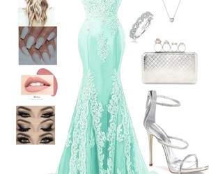 bridemaids, glitter, and green image