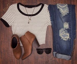 outfit, girl, and tumbler image