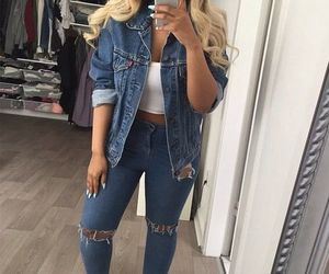 style and jeans image