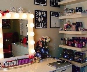 room, makeup, and make up image