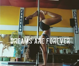 dance, dreams, and pole image