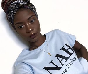 beautiful, melanin, and makeup image