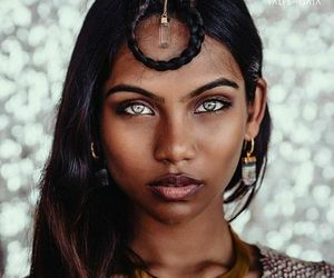 eyes, beauty, and woman image