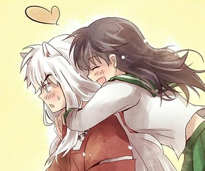 inuyasha, cute, and anime image