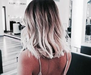 blonde, braid, and brunette image