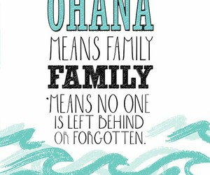 ohana, family, and disney image