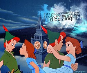 peter pan, fly with me, and jonas brothers image