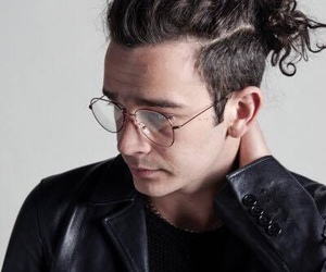 the 1975 and matty healy image
