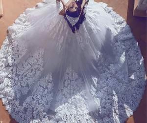 dress, bride, and casamento image