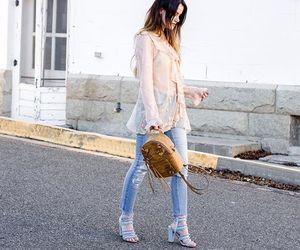 fashion, fashion blogger, and guess image