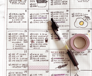 bullet, filofax, and planner image