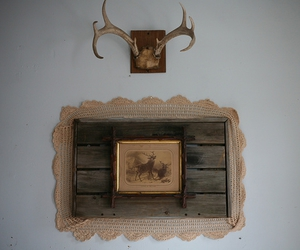 alice, antler, and wood image