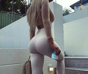 blonde, body, and girl image