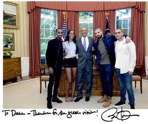 Drake, obama, and views image