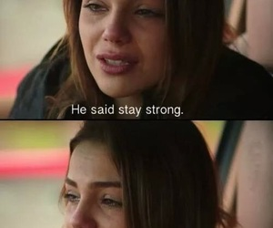 sad, stay strong, and left image