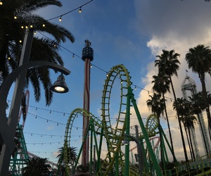 fun, parks, and knotts image