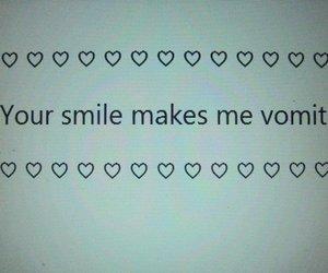 grunge, smile, and vomit image