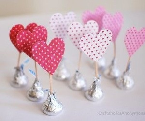 chocolate, kisses, and love image