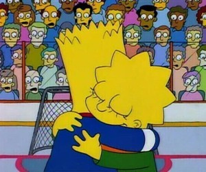 simpsons, bart, and love image